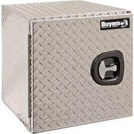 Buyers Aluminum Underbody Truck Box w/ Barn Door - 18x18x30 - 1705203