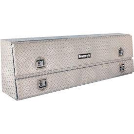 Buyers Contractor Aluminum Topside Truck Box w/ T-Handle - 21x13-1/2x88 - 1705650