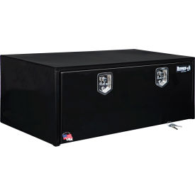 Buyers Steel Underbody Truck Box w/ Stainless Steel T-Handle - Black 18x24x48 - 1708310