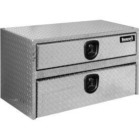 Buyers Aluminum Underbody Truck Box w/ T-Handle - 20x18x36 - 1712205