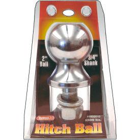 """Towing Ball - 2"""" Dia. X 2-1/8"""" Shank - 3,500 Lb. Cap. Chrome - Min Qty 5"""