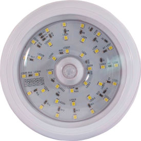 """Buyers 5"""" Round LED Interior Dome Light with Built-In Switch - 5625337"""