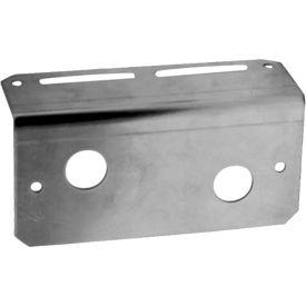 "Buyers Aluminum Mounting Bracket For 4.875"" Rectangular Surface Mount Strobe Light - 8891007"