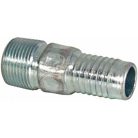 "Buyers Combination Nipple, Bheps5x6, 1-1/2"", 1.25 Npt Male Thread, 1.50"" Hose Id, 3.500""L -Min Qty 8"