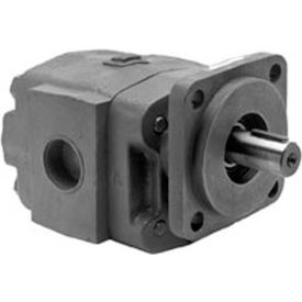 "Buyers H21 Series Hydraulic Pump, H2134153, 4 Bolt, 3000 Max Pressure, 1"" Keyed 1/4 KW Shaft"