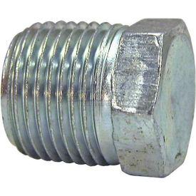 "Buyers Hex Head Plug, H3159x8, 1/2"" Male Pipe Thread - Min Qty 49"