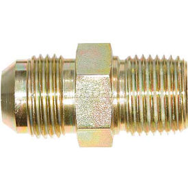 """Buyers Male Connector, H5205x10, 5/8"""" Tube O.D., 1/2"""" Npt - Min Qty 18"""