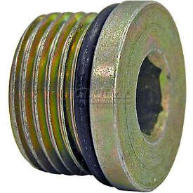 "Buyers Straight Thread O-Ring Hex Socket Plug, H7238x6, 3/8"" Port Size - Min Qty 72"