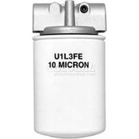 "Filter Asmby, Hfa21025, 10 Micron, 25 Psi Bypass, 1-1/4"" Npt Ports,(4)1/8"" Npt Gage Ports-Min Qty 2"