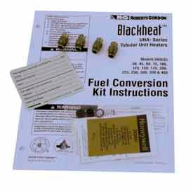 Roberts Gordon BlackHeat™ Natural Gas to Propane Fuel Conversion Kit 400K BTU