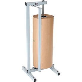 """Vertical Paper Dispenser With Cutter for 20""""W x 9"""" Diameter Single Roll"""