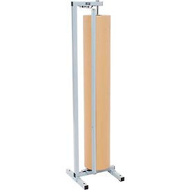 "Vertical Paper Dispenser With Cutter for 48""W x 9"" Diameter Single Roll"