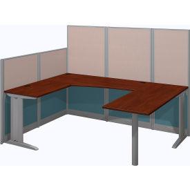 Bush® Office-in-an-Hour 89W x 65D U-Workstation