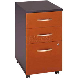 Series C Auburn Maple Three-Drawer File