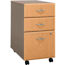 Series A Light Oak Three-Drawer File