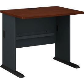 """Bush Furniture 36"""" Desk - Hansen Cherry - Series A"""