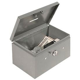 Stamp and Coin Box - Gray