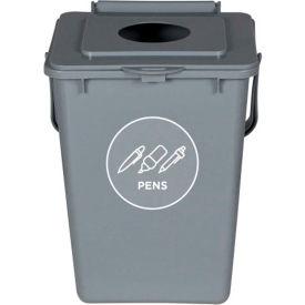 Busch Systems Collect All Bin - Pens - 2-1/4 Gallon - Gray - 101424