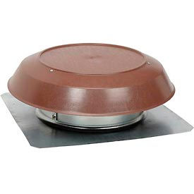 Broan Roof Mounted Powered Attic Ventilator With Brown PVC Dome - 1200 CFM