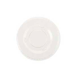 Boardwalk® BWKLS3, Souffle/Portion Lids,  Fits 3-1/4-4 oz. cups, Plastic,  Clear, 2400/Carton