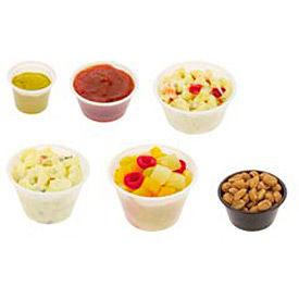 Pactiv® PCTYS300, Souffle/Portion Cups, Plastic,  3-1/4 oz., 2400/Carton