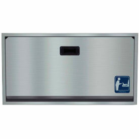 Bradley Baby Changing Station, Recessed Stainless Steel 962-000000 by