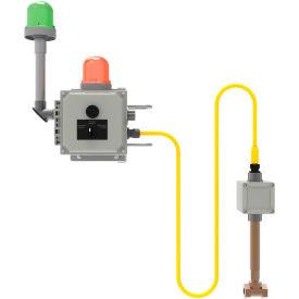 Bradley® Emergency Signaling System, NEMA 4X, Eye/Face Wash, Green Beacon, S19-324EG