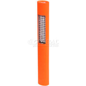 Night Stick® Multi-Purpose Flashlight & Floodlight Nsp-1260, 150/120 Lumens, Orange - Pkg Qty 2