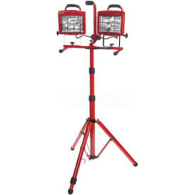 Bayco® Professional Tower Light SL-1006, 6'L Cord, 18/3 GA, Red