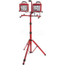 Bayco® Professional Tower Light Sl-1006, 6'L Cord, 18/3 Ga, Red - Pkg Qty 2