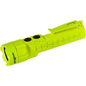 Night Stick® Safety-Approved LED Flashlight & Flood Light XPP-5422G, 80 Lumens, Green