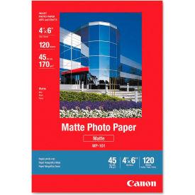 "Canon® Matte Photo Paper 7981A014, 4"" x 6"", White, 120/Pack"