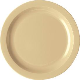 "Cambro 10CWNR148 - Plate Narrow Rim, 10"",  White - Pkg Qty 48"