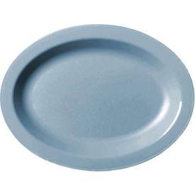 """Cambro 120CWP401 - Plate Oval 12"""",  Slate Blue - Pkg Qty 24"""