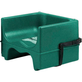 Cambro 200BCS519 Booster Seat, Dual Height, Polyethylene, w/Strap, Green Package Count 4 by