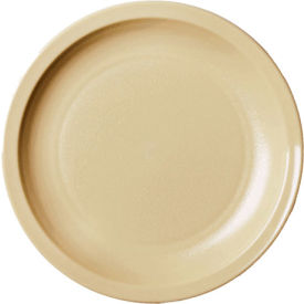 """Cambro 55CWNR133 - Plate 55cwnr133, 5-1/2"""", Beige - Pkg Qty 48"""