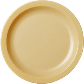 "Cambro 65CWNR133 - Plate Narrow Rim, 6 1/2"",  Beige - Pkg Qty 48"