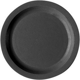 "Cambro 725CWNR110 - Plate Salad 7 1/4"",  Black - Pkg Qty 48"
