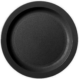 "Cambro 825CWNR110 - Plate Narrow Rim, 8 1/4"",  Black - Pkg Qty 48"