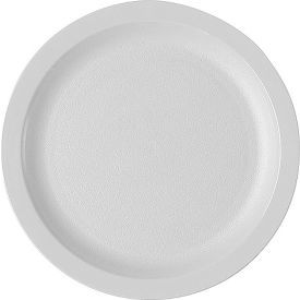 "Cambro 825CWNR148 - Plate Narrow Rim, 8 1/4"",  White - Pkg Qty 48"
