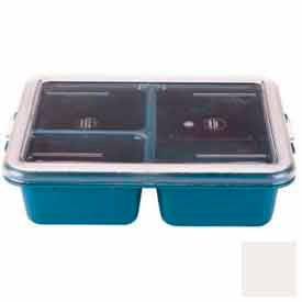 Cambro 911CPC148 - Lid, For Meal Delivery Tray, White - Pkg Qty 24