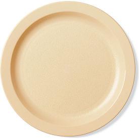 "Cambro 9CWNR148 - Plate Narrow Rim, 9"",  White - Pkg Qty 48"