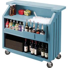 Cambro BAR540401 - Small Size, Bottle Service, Standard Decor, Slate Blue