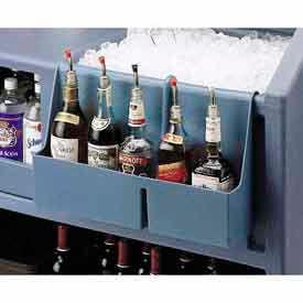 Cambro BAR54SR401 Speed Rail 5-bottle Slate Blue by