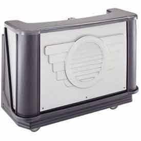 "Cambro BAR650DSPM667 Portable Bar 67.5"" W/Cold Plate Manhattan by"