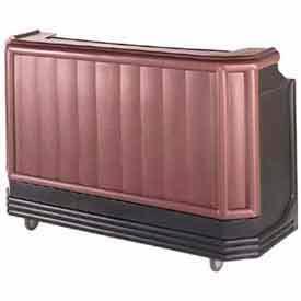 """Cambro BAR650DX189 Portable Bar 67.5"""" Browne Mahogany by"""