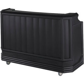 Cambro BAR730PM110 - Large Size w/Post-mix system Bag-in-box Syrup, Black