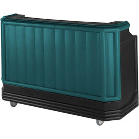 Cambro BAR730PMT421 - Large Size w/Post-mix system Bag-in-box Syrup, Water Tank, Green w/Black Base