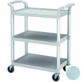 "Cambro BC331KD480 - KD Bus / Service Cart, 4"" Swivel Casters, Speckled Gray"