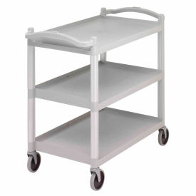 Cambro BC340KD480 - Service Cart Three Shelves Speckled Gray